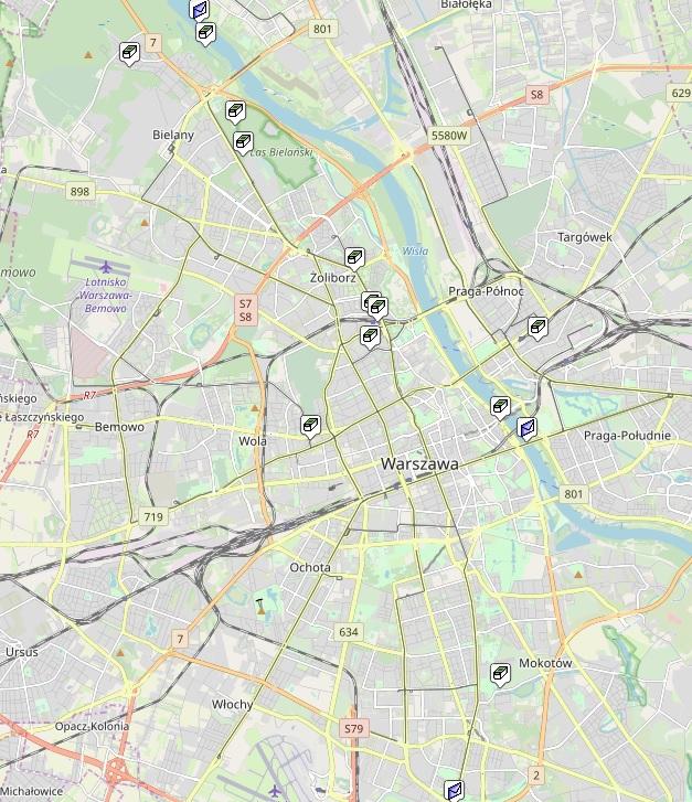 GeoOjczysty- Mapa